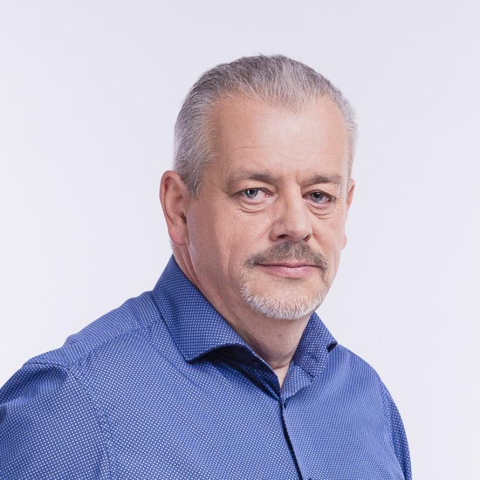 Profilová fotogravie Jaroslava Vrchlavského
