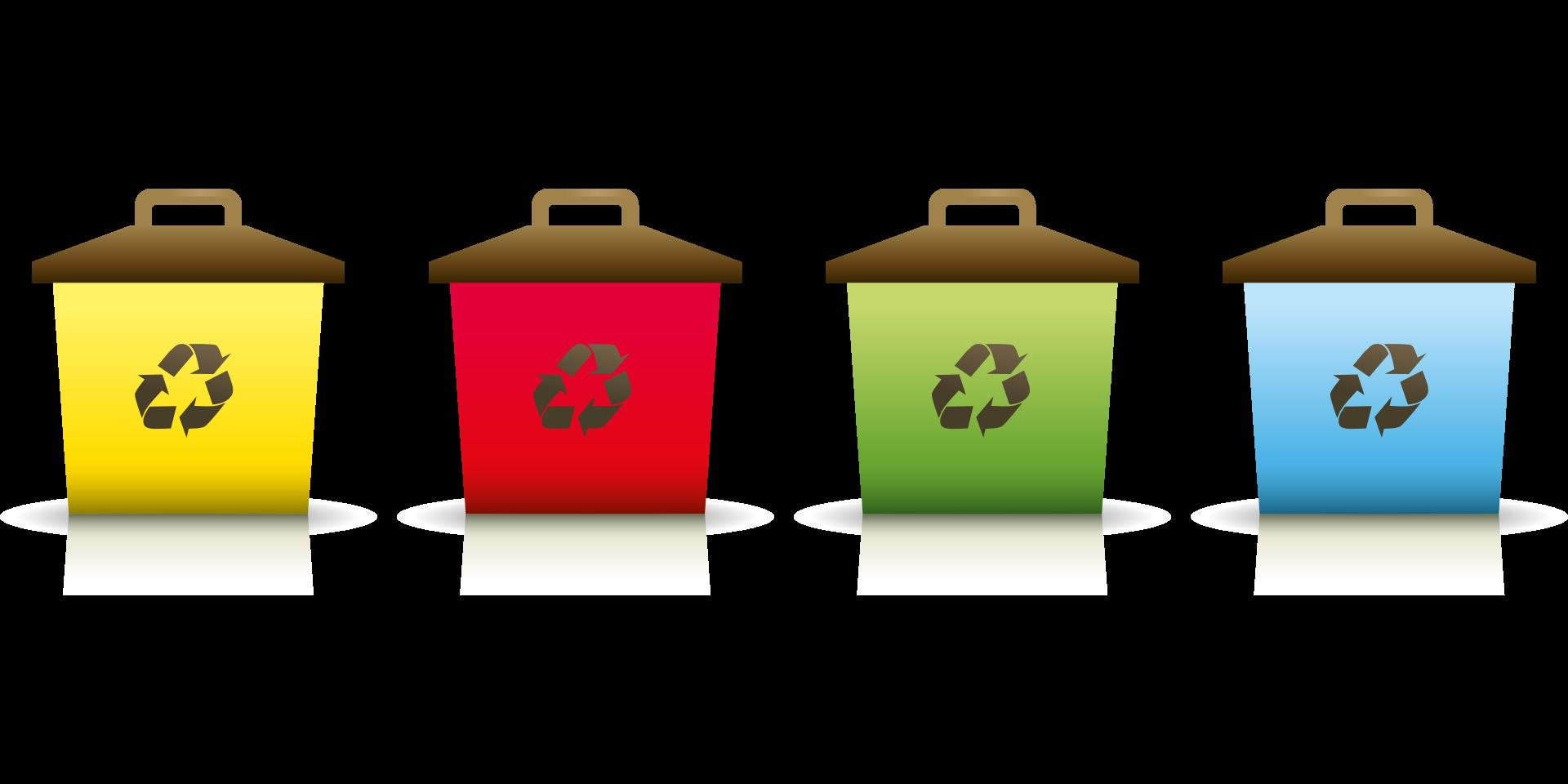 Nádoby na tříděný odpad